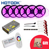 10M 15M 20M 5M RGB Led Strip 5050 Waterproof IP65 IP20 60led M 18A Touch Remote