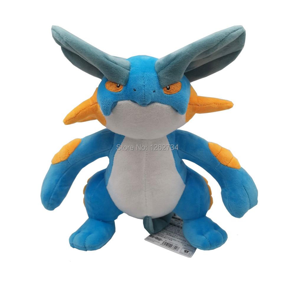 Swampert 30CM Plush Doll Figure Toy Retail