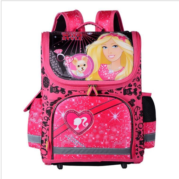 ФОТО 2016 Boys Girls School Bags Backpacks Child Orthopedic Waterproof Backpack Boy Car Book bag Kids Satchel Knapsack Mochila