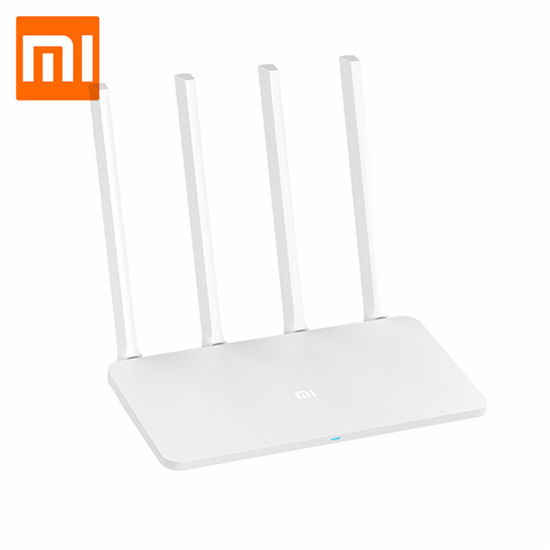 Xiaomi Mi WiFi Router 3A Chinese Version 4-Antenna APP Control 64MB Memory 802.11ac Dual Band 2.4GHz 5GHz Router for Home image