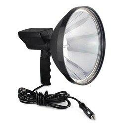 Прямая поставка 9-дюймовая портативная HID ксеноновая лампа 1000 Вт 245 мм для кемпинга, охоты, рыбалки, точечный светильник, яркость