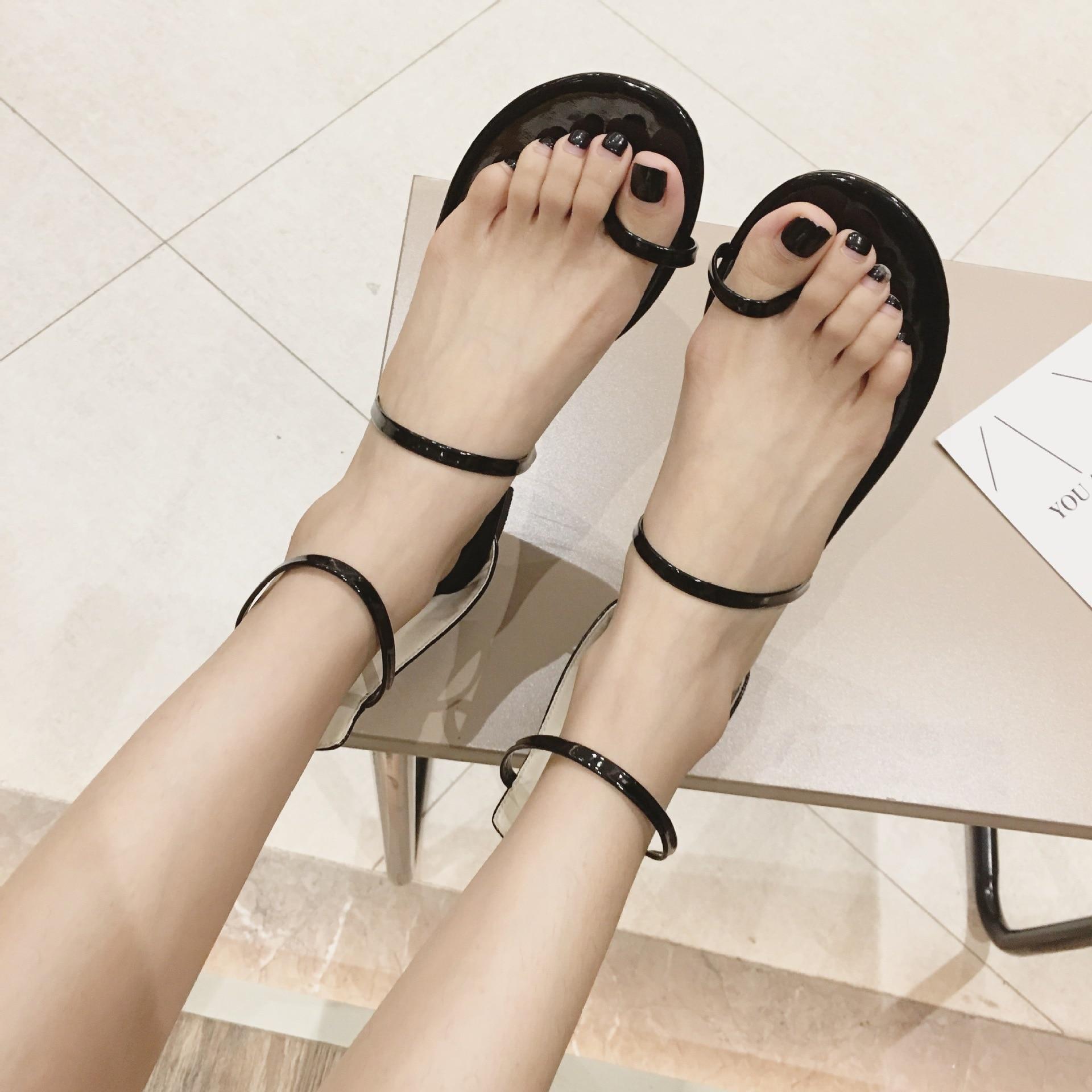 3576 P Wilden Römischen Schuhe Weiblichen Koreanischen Version Des Neuen Zurück Zipper Charge