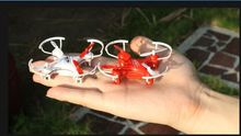 YD828 2.4Ghz 4ch mini rc drone quadcopter with lights