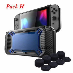 Image 3 - IVYUEEN for Nintend Switch NS NX Console Heavy Duty Slim Rubberized Hard Case Shell with Thumb Grip Tempered Glass Screen Film