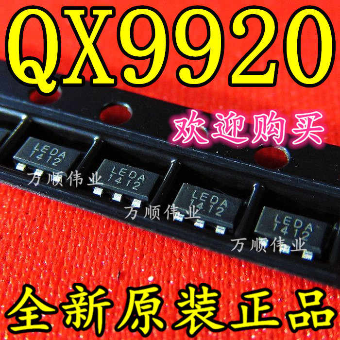 10 unids/lote QX9920 LEDA SOT23-6