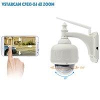 VStarcam Wireless PTZ Dome IP Camera Outdoor 720P HD 4X Zoom CCTV Security Video Network Surveillance