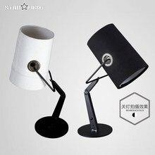 Modern Italy Diesel x foscarini fork floor lamp table lamp Folding light led light linen Cloth lamp shadebed room table lamp