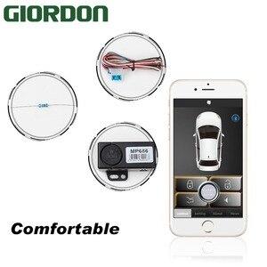 Image 2 - Akıllı telefon oto alarm sistemi cep telefonu sallayarak 2 kez açma/kilit. orijinal araba siren veya dönüş lambası çıkış göstergesi.