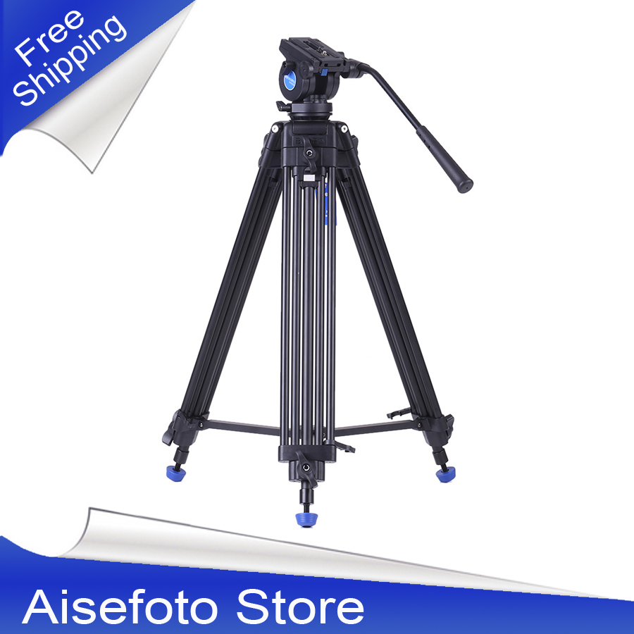 2016 New and High Quality Professional Aluminum Alloy Video Tripod Camera Tripod with Hydraulic Head for Canon Nikon Sony DSLR 2016 new professional aluminum tripod camera tripod high quality aluminum tripod