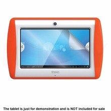 """3 * Clear LCD Protector Film Protector de Pantalla Premium HD Piel cubierta De Oregon Scientific MEEP 2.0 7 """"7.0 pulgadas Tablet accesorios"""