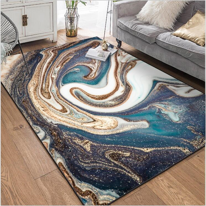 AOVOLL Modern Abstract Large Soft Carpet Bedroom And Rugs For Home Living Room Kitchen Mat For Floor Area Rugs For Home Decor