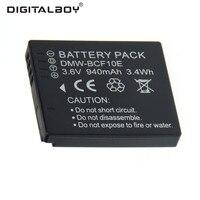 3 6v 940mAh DMW BCF10E DMW BCF10E DMWBCF10E Battery For Panasonic Lumix DMC FX65P DMC FX65S
