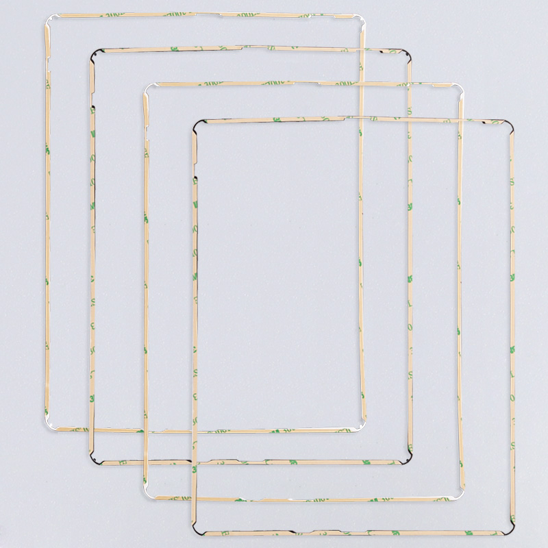 5 PACK LOT Black iPad Mid Frame Spacer Bezel with Adhesive for iPad 2