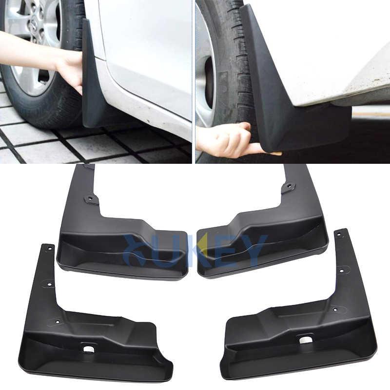4Pcs Car Mud Flaps Mudguard for Toyota Sienna 2011-2016 Fender Splash Guards Black