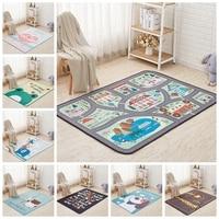 Kids Rug Cute Cartoon Animal Children Play Mat Kids Crawling Blanket Rugs And Carpets for Home Living Children Room Decor Carpet