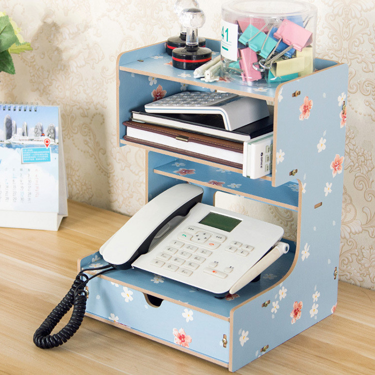office supply organizer wooden office desk organizer multi functional home office 23963