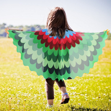 SPECIAL Peacock Child Wing Costume Shawl Party Nephew Gift Summer Animal Costumes Dance Show Toys New Year For Kids