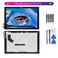 Für Microsoft Oberfläche Pro 4 Pro4 1724 LTN123YL01-001 LCD Display Screen Digitizer Touch Panel Glas Assembly + Werkzeuge