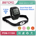 Sports Watch Wireless Heart Rate Strap Pedometer Fitness Heart Rate Tracker