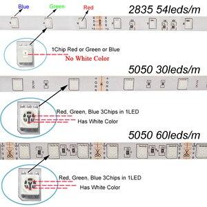 Image 5 - Wifi Dải Đèn LED 10M 5M SMD RGB 2835 5050 Diode LED Băng Nơ Đèn LED Chống Nước Băng Và bộ Điều Khiển Từ Xa Với Bộ Adapter