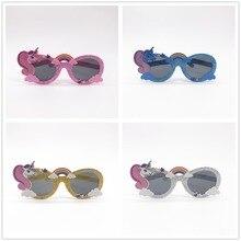 Divertido unicornio Arco Iris fiesta gafas de sol fiesta máscara disfraz  gafas Photobooth Props boda suministros decoración niño. d00bbbc57590