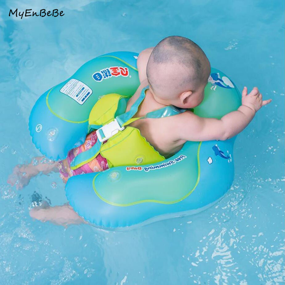 Safety Baby Swim Ring Inflatable Armpit Float Circle Kids Swimming Pool Accessories Baby Bathing Double Raft Swim Rings Toy piscine accessoires pool baby swimming pools eco friendly pvc baby inflatable swim accessories water swim float necessaries