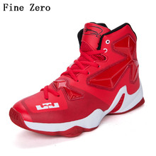 Men's High Quality Sports Shoes Basketball Shoes Outdoor Basketball Ankle Boots Training Shoes Children's Sneaker Couple Shoes