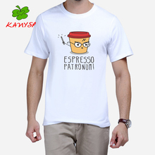 Harry Potter Coffee Design T Shirt Printed Vintage Tee Tops 100% cotton t-shirt KANYSP Brand cheap clothes china Espresso patron(China (Mainland))