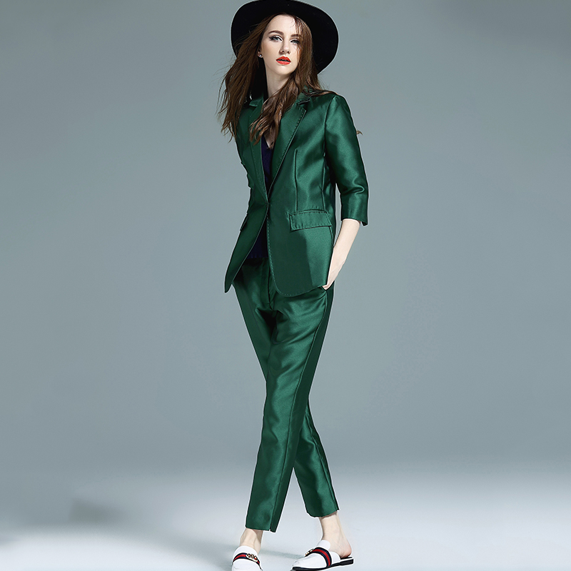 Two Piece Suit Womens