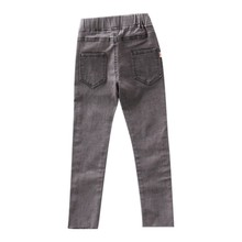 Fashion Jeans Girls Kids Clothes Cotton Denim Stretch Waist Slim Skinny Pants