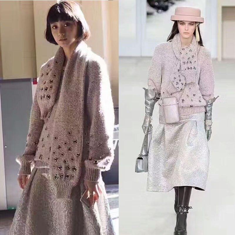 2017 женские свитера и пуловеры, трудоемкий кашемировый пуловер Женский удивительный джемпер вязаный элегантный зимняя теплая одежда