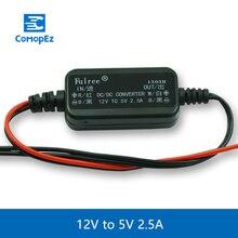 dc dc понижающий USB Питание преобразователь DC/DC Step-Down 12 В до 5 В 2.5a Водонепроницаемый Управление автомобиля модуль автоматического защита размер 43*22*11 мм