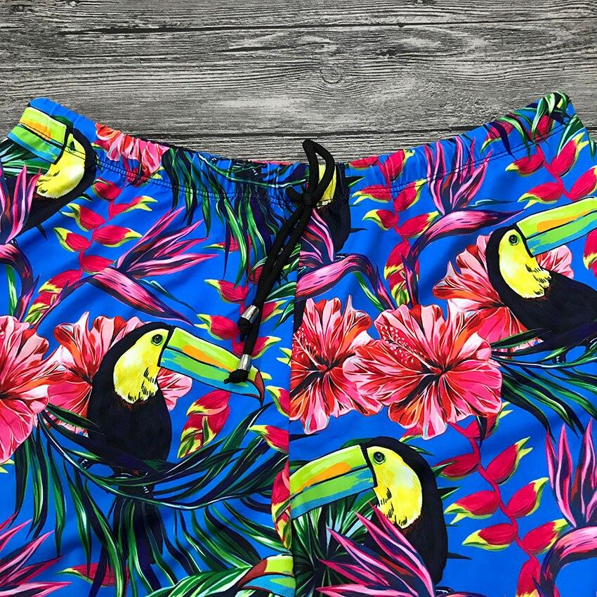 c46074d7fe69ea ... Nowe wydruki Szorty plażowe dla człowieka oddychająca Surf Board stroje  kąpielowe szybkie suche pływać Trunks spodnie ...