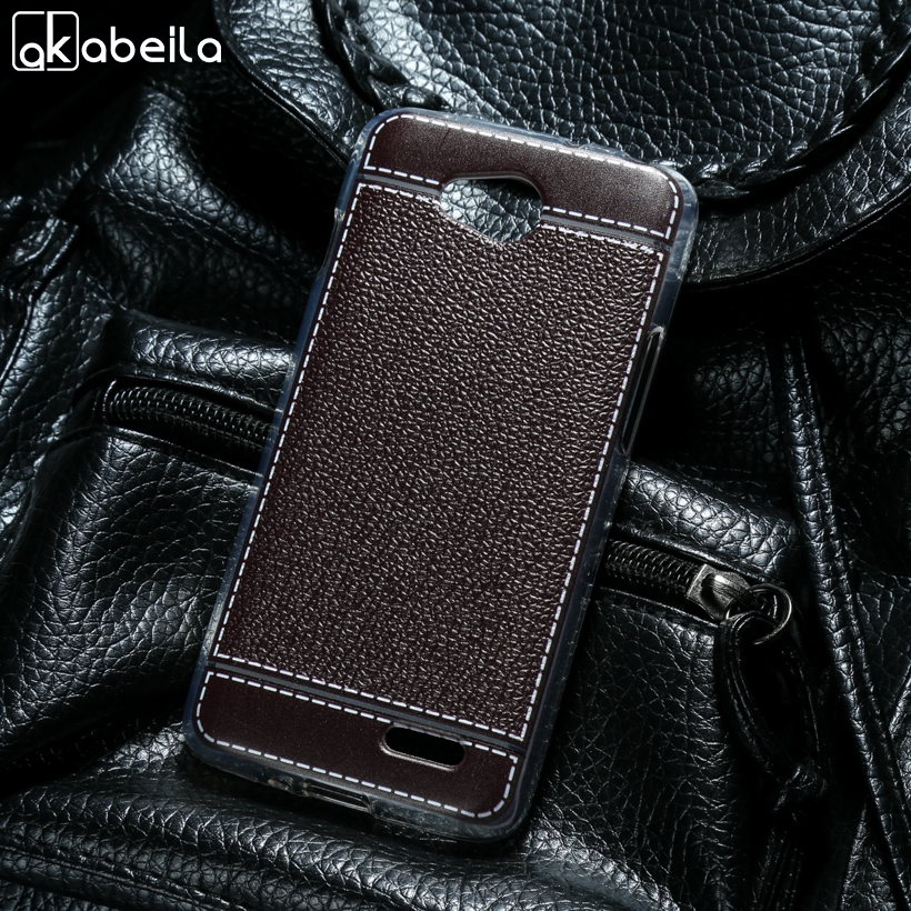 AKABEILA Soft Case For LG Optimus L90 Dual Sim D410 D415 Series III L90 Phone Cases Back Covers For LG LEON Tribute 2 4G LTE C40