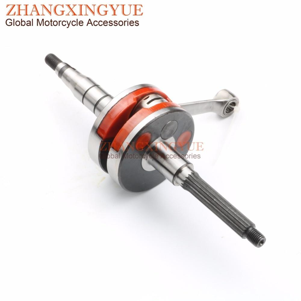 Racing quality crankshaft for BENELLI Minarelli 491GT 491RR Replica 491 ST50 K2 50 Naked AC Pepe 50 -03 2T JOG Piston pin 10mm все цены