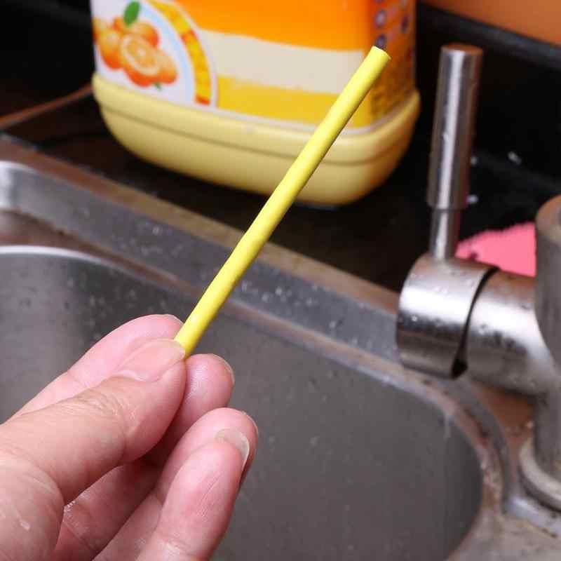 חם 12/סט סאני מקלות טיהור מטבח אמבטיה אסלת ניקוז מנקה ביוב ניקוי מוט נוח ביוב נקי מוט