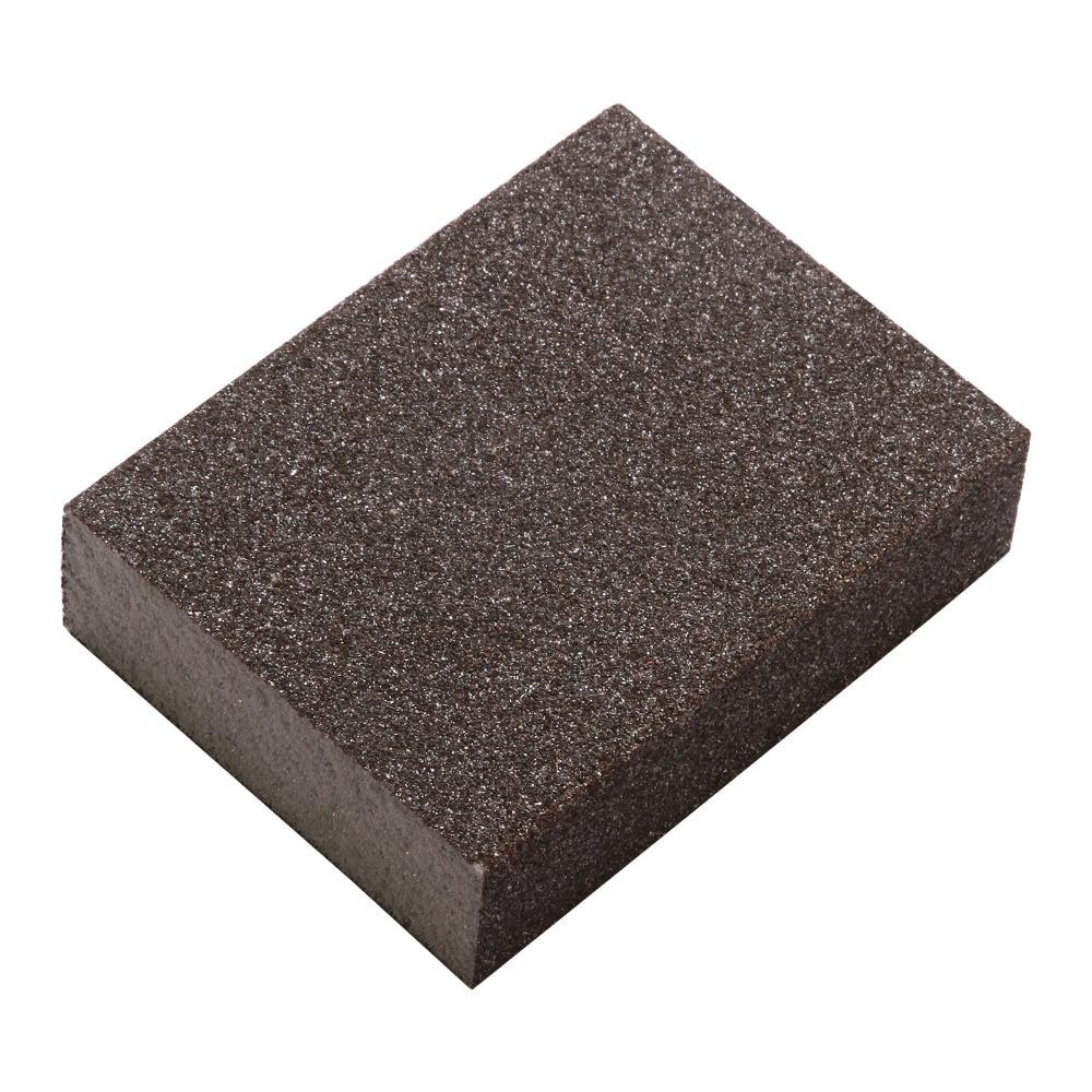 5pcs M 120-180# Polishing Sanding Sponge Block Pad Set Sandpaper Assorted Grit