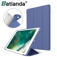 Slim Smart Shell Stand Case With Soft TPU Back Cover For Apple IPad Mini Smart Case