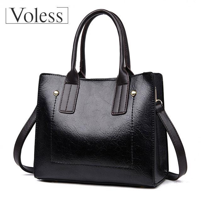 VOLESS Messenger Bag Women 2018 New Shoulder Bag Female Ladies Pu Leather Handbags Women Handbag Crossbody Bags For Women