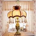 Настольная лампа европейский стиль роскоши принцесса пастырской свадьба затемнения теплый свадебный подарок декоративные настольные лампы