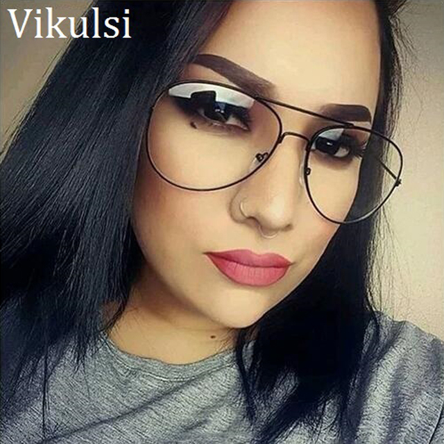 Classic Aviator Clear Glasses Women Luxury Brand Gold Clear Sunglasses Rays  Points Sun Glasses Men Shades Lunette Femme Glases 69b3b4196