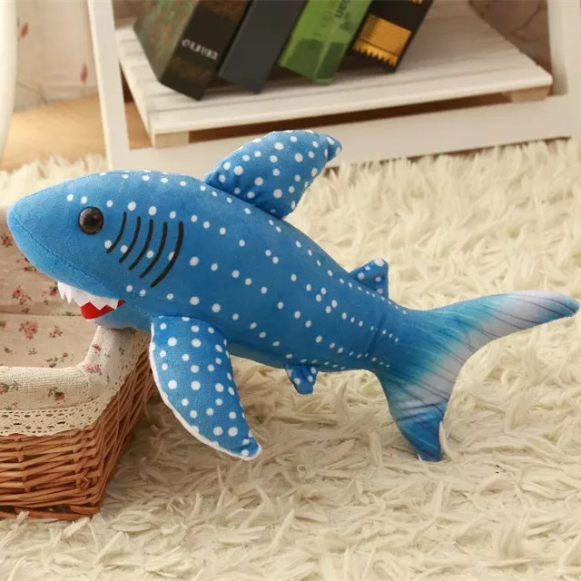 Adorable Blue Whale Shark Plush Stuffed Animal Toy 11 8 In Stuffed