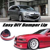 NOVOVISU For Mazda 5 M5 For Mazda5 Premacy Bumper Lip / Front Spoiler Deflector For Car Tuning / Body Kit / Strip Skirt