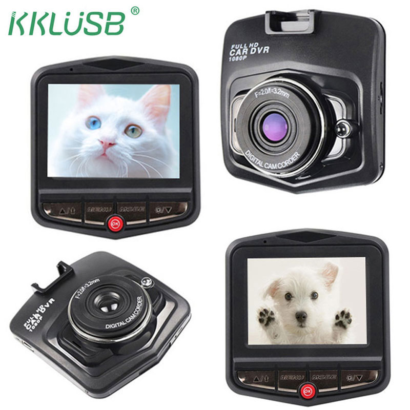 2018 Новый GT300 тире камеры Mini Видеорегистраторы для автомобилей Dashcam Full HD 1080p цифровой видео регистратор Регистраторы Авто регистраторы Обнаружение монитор