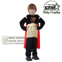 Plus Size XL M-XL Halloween Costumes for Children Boys King Cosplay Prince Costumes Fantasia Disfraces Games Uniforms
