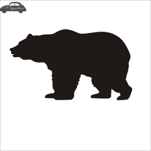 ФОТО Bear Decal Posters Wall Decals Pegatina Quadro Parede Decor Mural Wild Animal Sticker 719