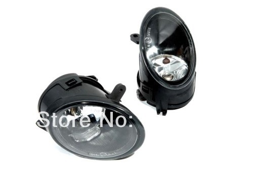 Glass Lens Front Fog Light Assembly For Audi A6 C6