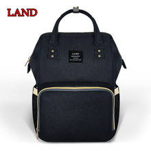 255f30301778 LAND Baby Diaper Bags Backpack Mummy Maternity Nappy Bag Travel Nursing Baby  Bag for Mom Large