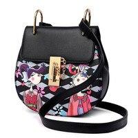 2017 Unique Design Women Messenger Shoulder Bag Ladies Clutches Chain Crossbody Bags Tote High Grade Female