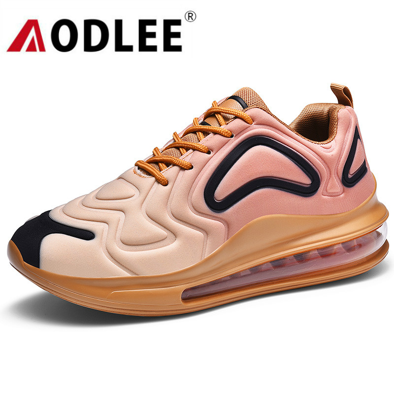 AODLEE Shoes Men Sneakers Casual Shoes Big Size Air Cushion Mens Sneakers Shoes Casual Breathable Flyknit tenis masculino adulto